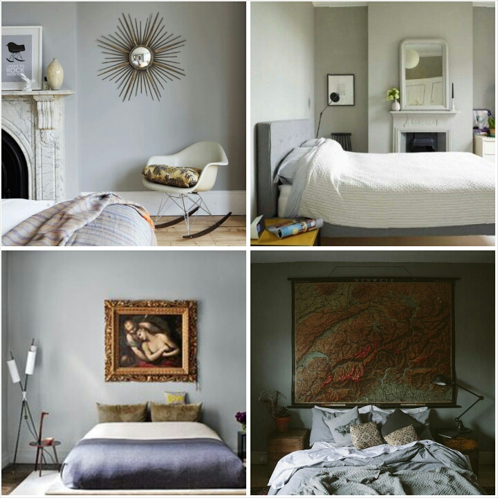 grey painted bedrooms littlegreenshed blog