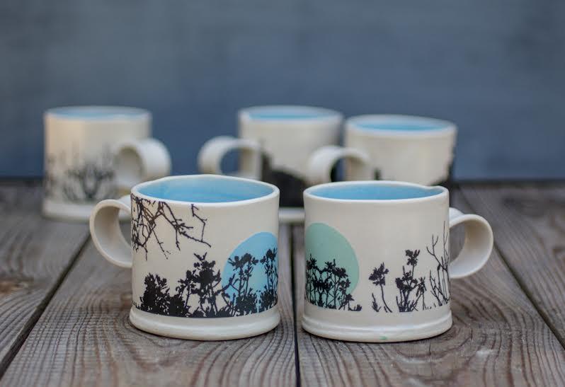 littlegreenshed blog, ceramics, freefolding