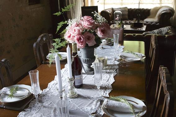 French dining, Littlegreenshed