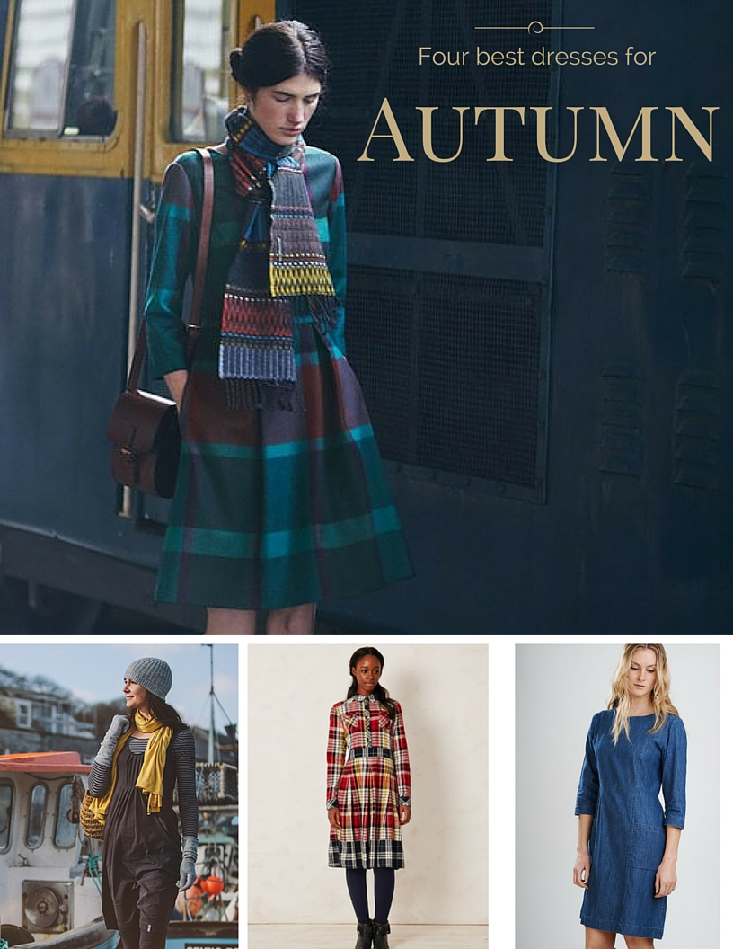 Four best dresses for Autumn - Littlegreenshed blog