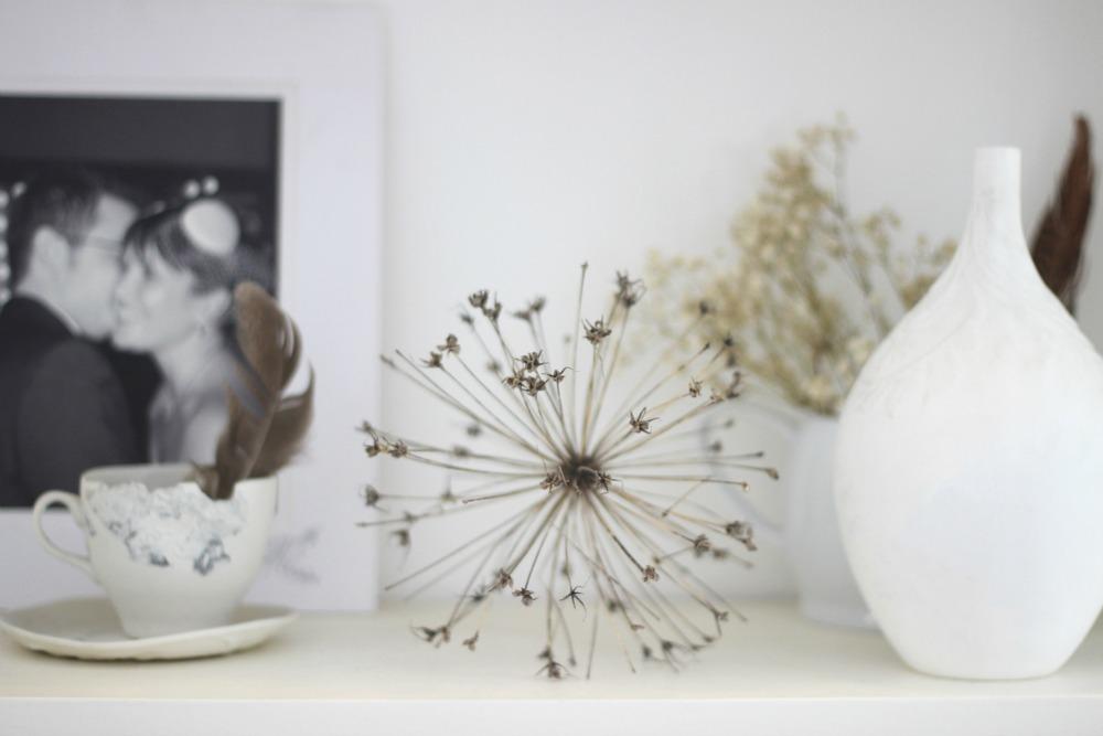 shelf details white seed head