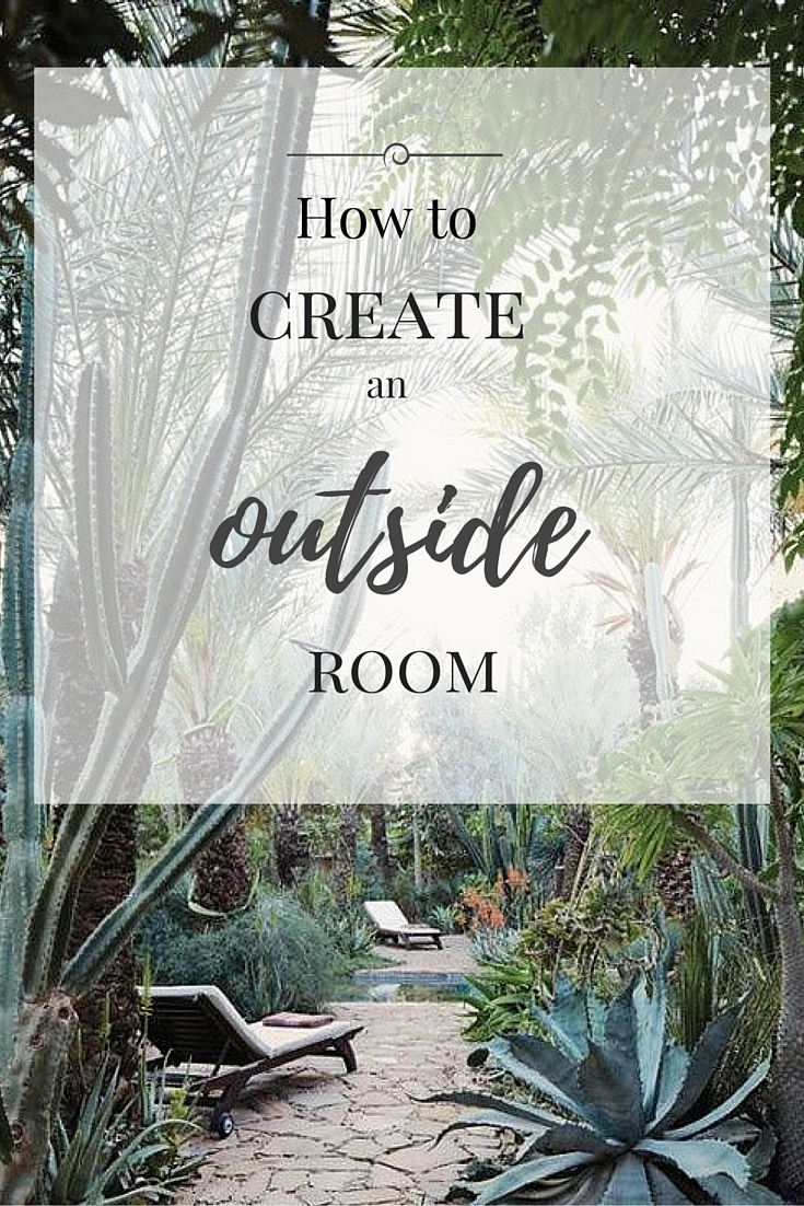 littlegreenshed blog tips on creating an outside room