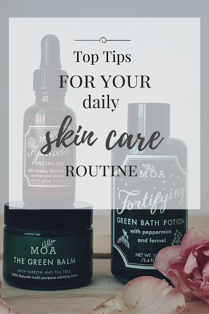Littlegreenshed Blog Lou Archell skin care routing