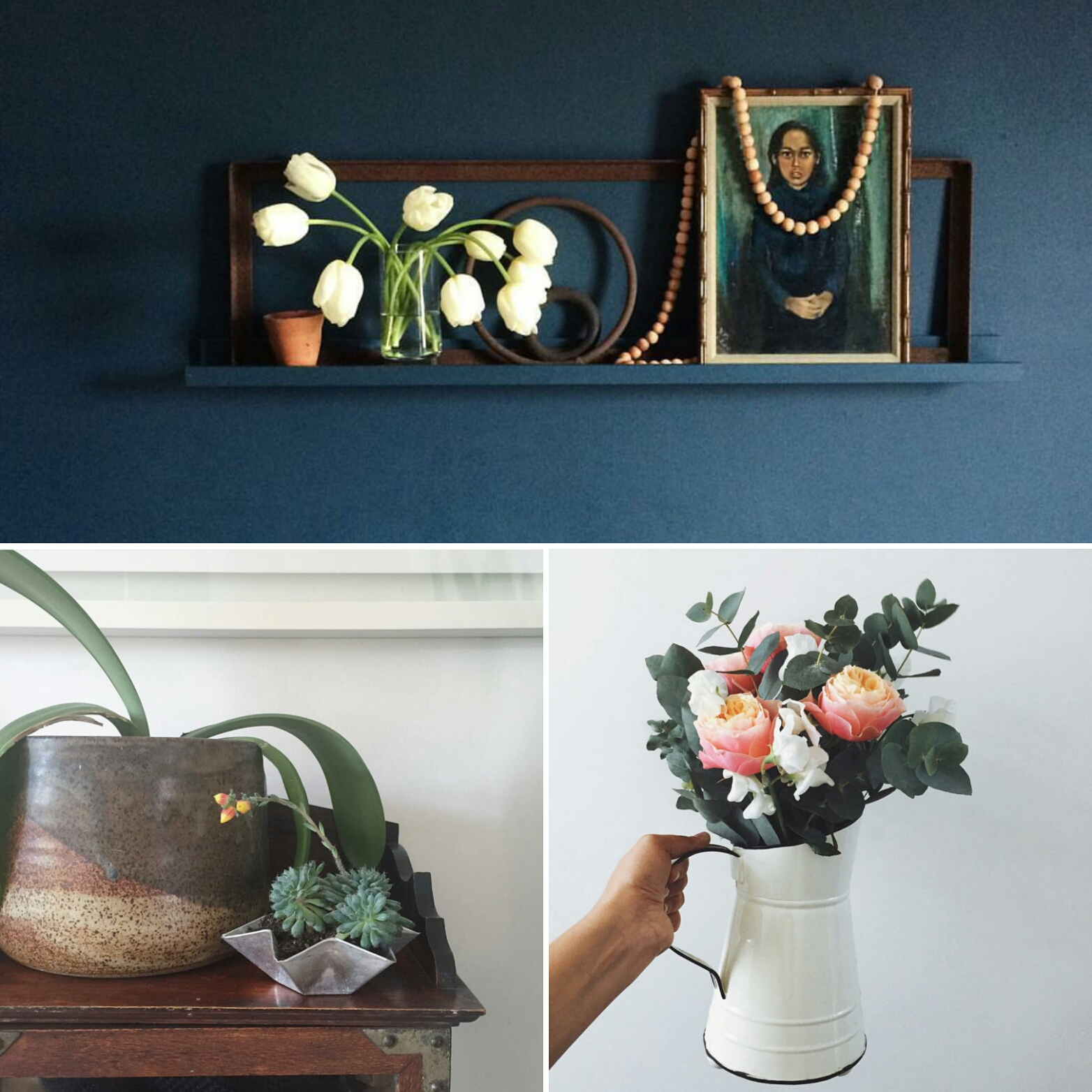 Nature in the Home April winners Rose and Grey