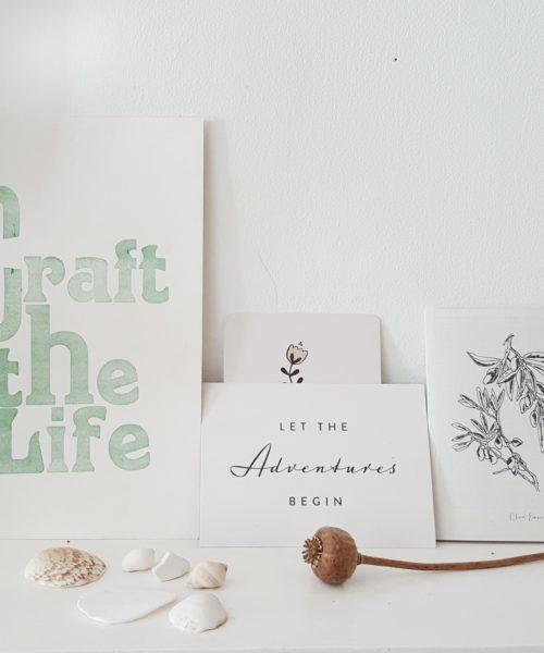 littlegreenshed blog craft the life