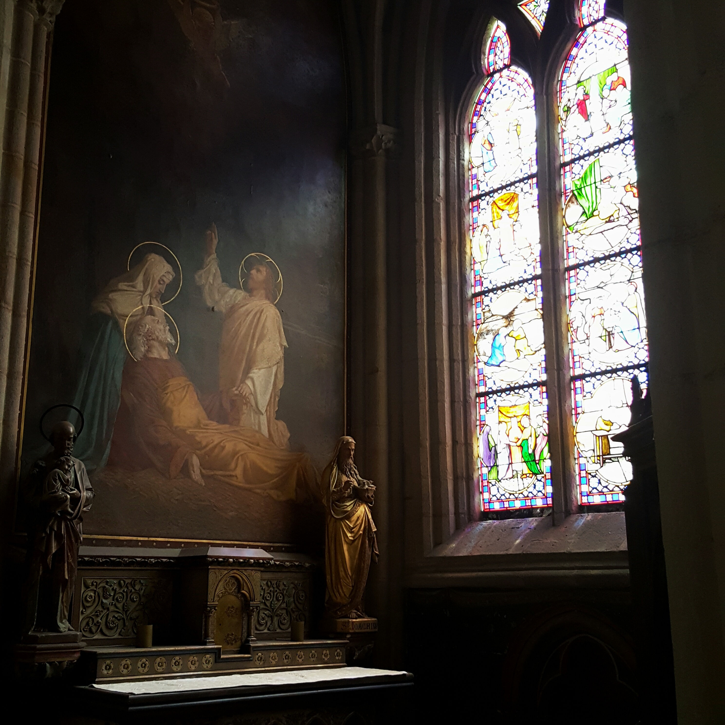 littlegreenshed quimper cathedral