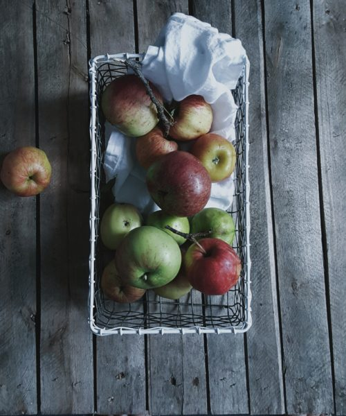 anatural_autumn littlegreenshed blog apples in a wire basket