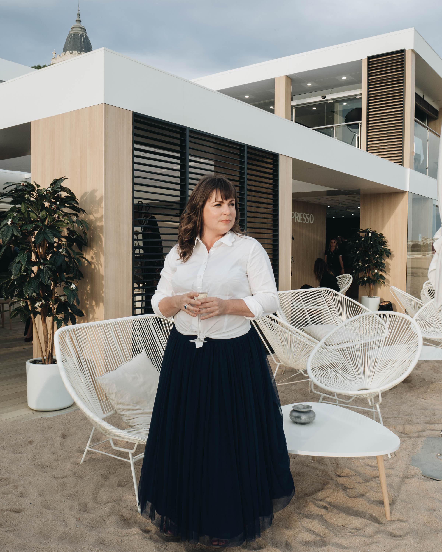 Nespresso Cannes, red carpet outfit, littlegreenshed blog 2017