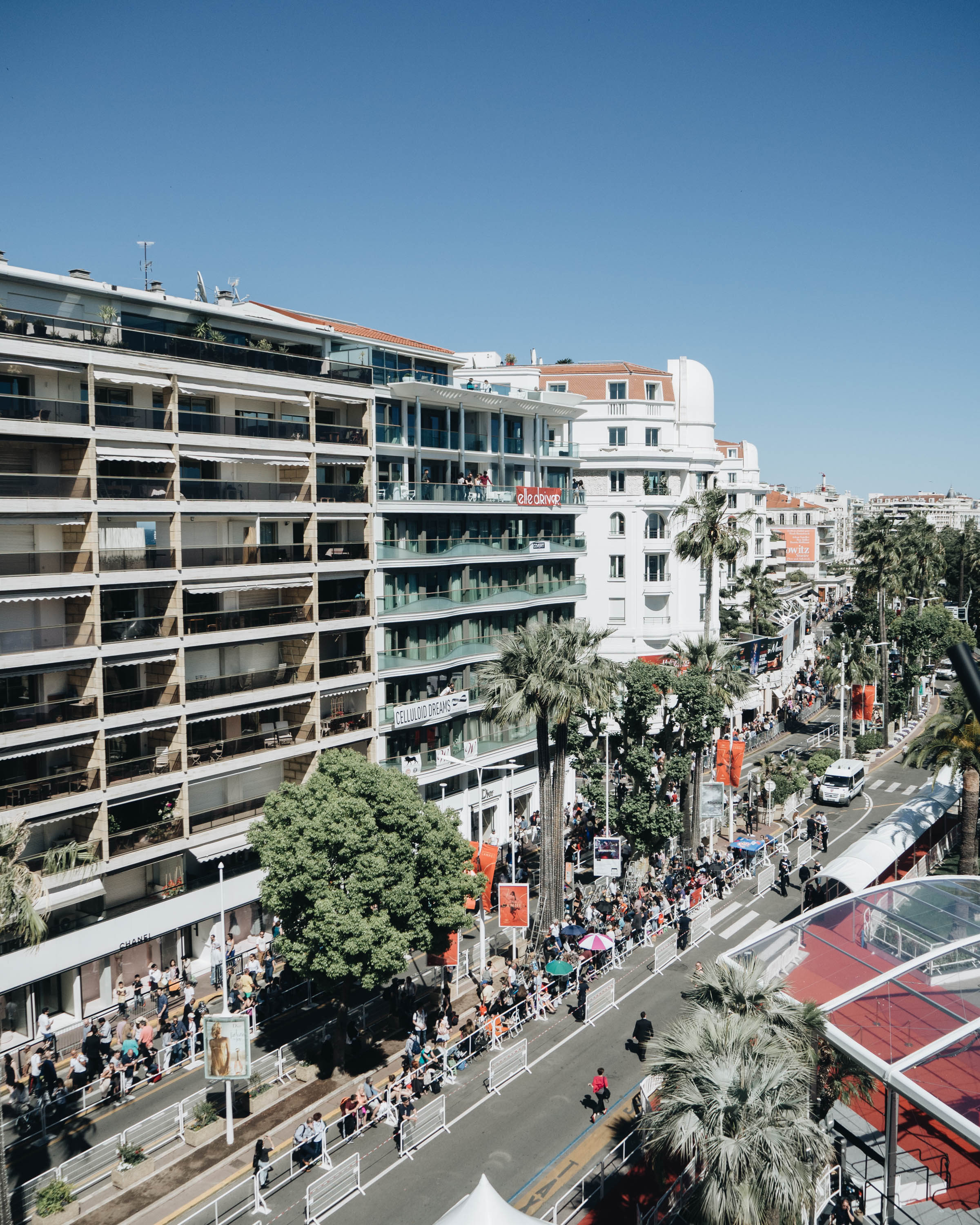 Nespresso Cannes, red carpet, littlegreenshed blog 2017