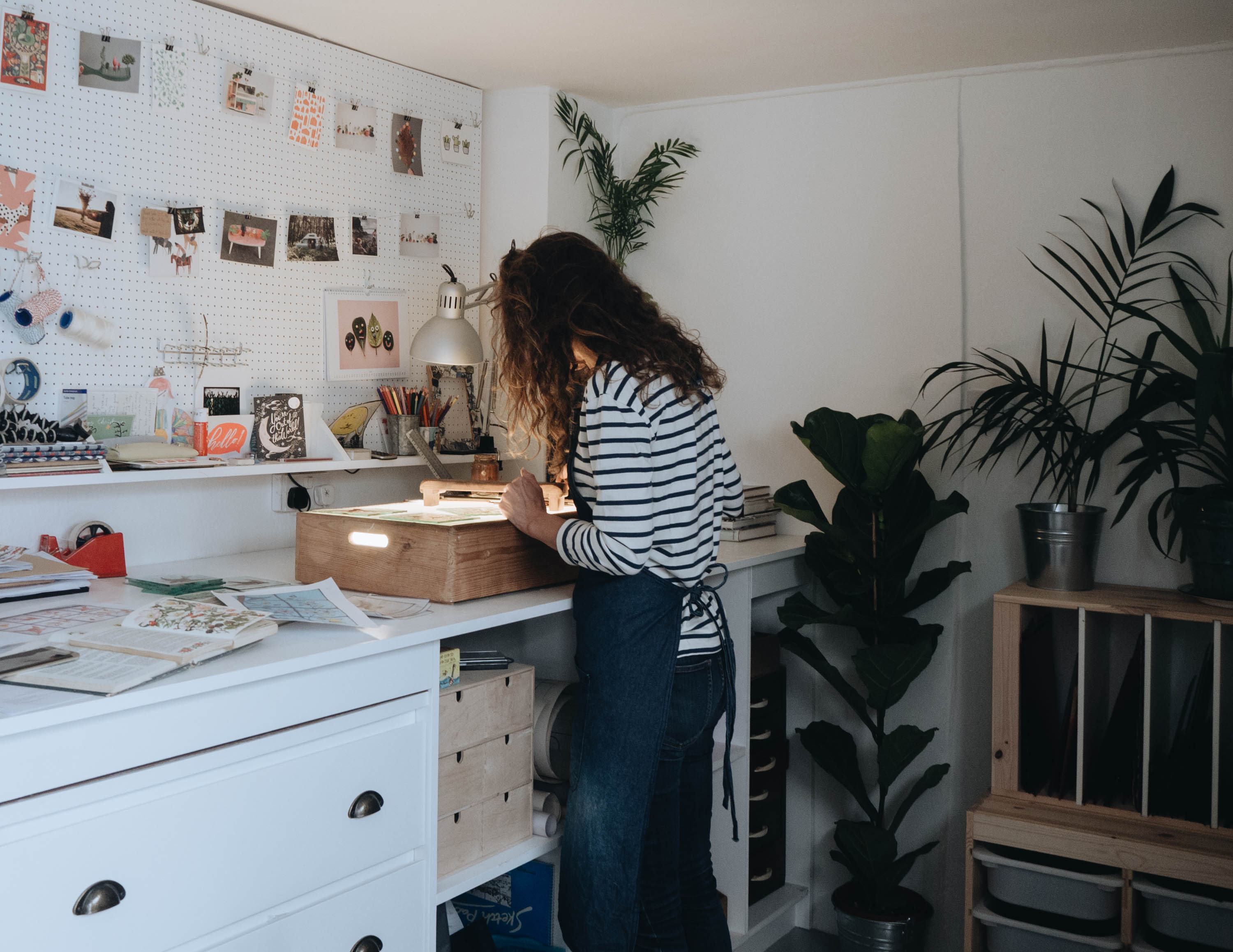 Simple Living // Studio tour with Flora Jamieson littlegreenshed seasalt