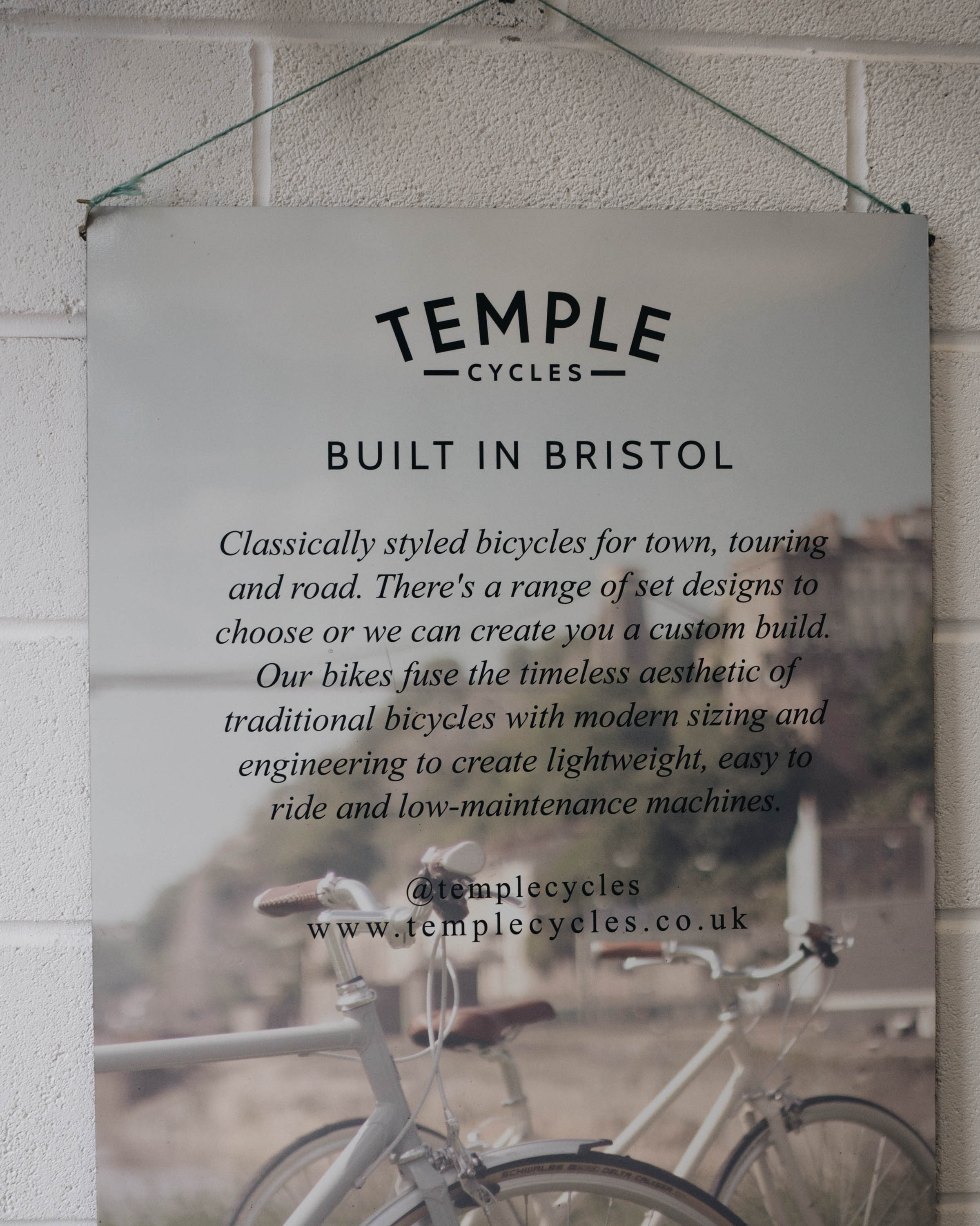 workshop tour temple cycles bristol littlegreenshed
