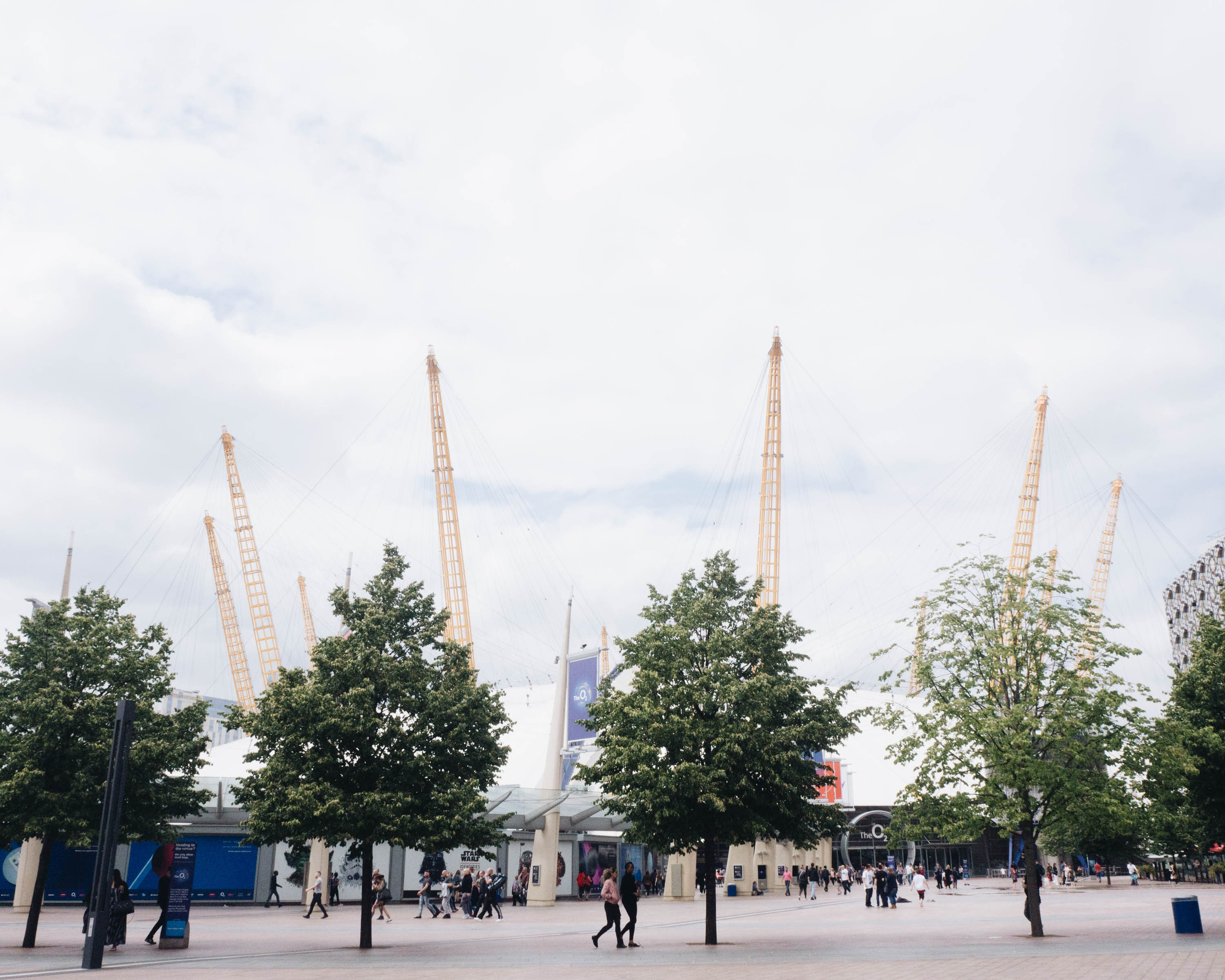 up at the o2 littlegreenshed travel blog