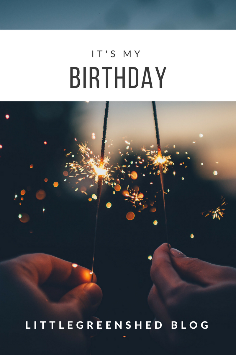 Littlegreenshed blog birthday wish list