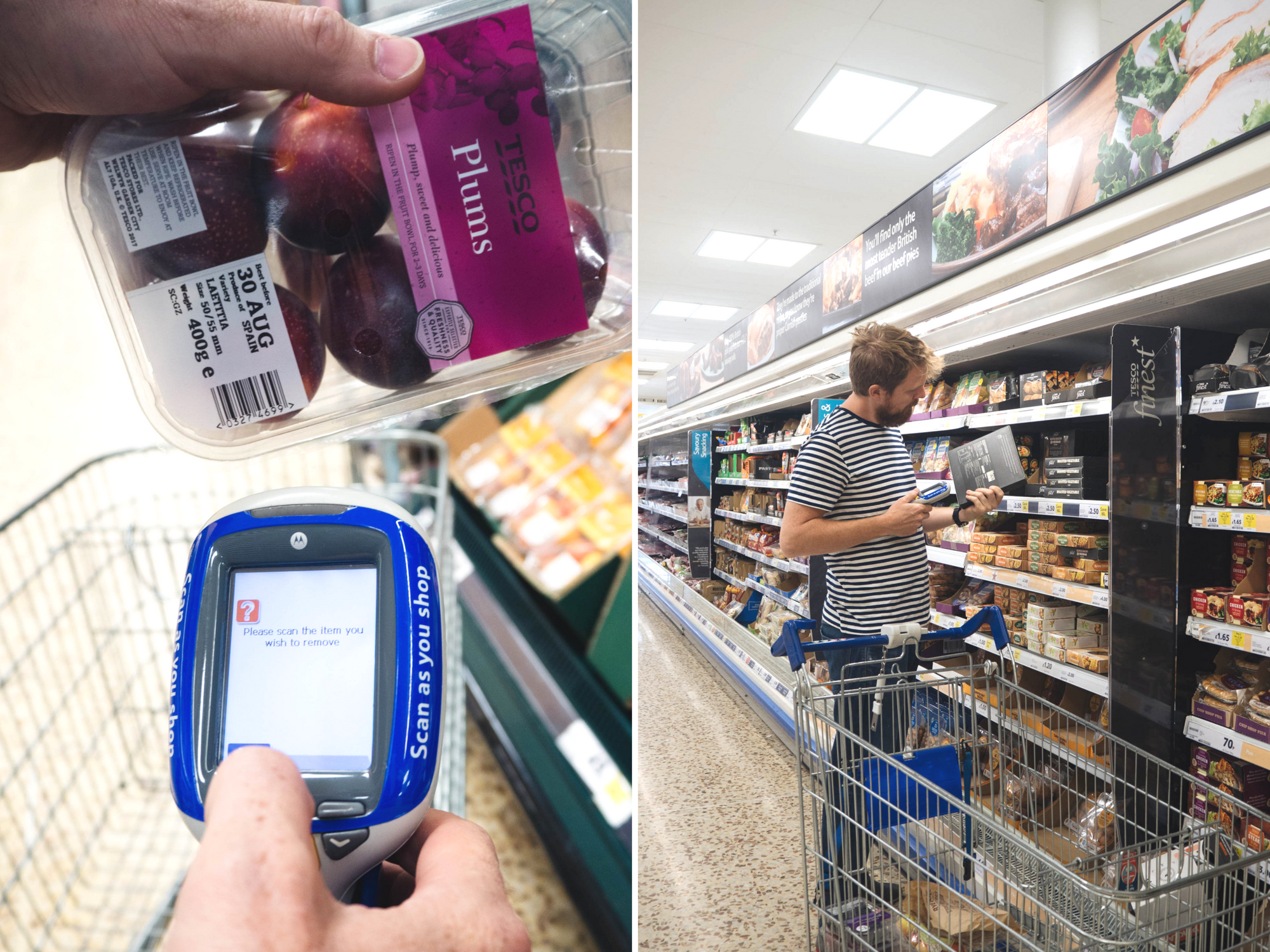 Tesco Scan As You Go campaign Littlegreenshed Blog