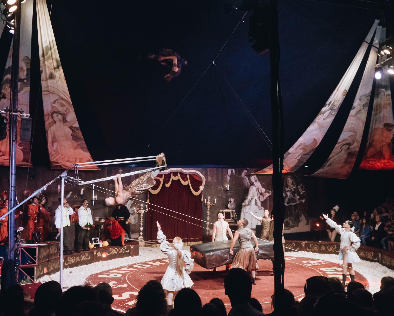 Seasonal rituals giffords circus Littlegreenshed 2017
