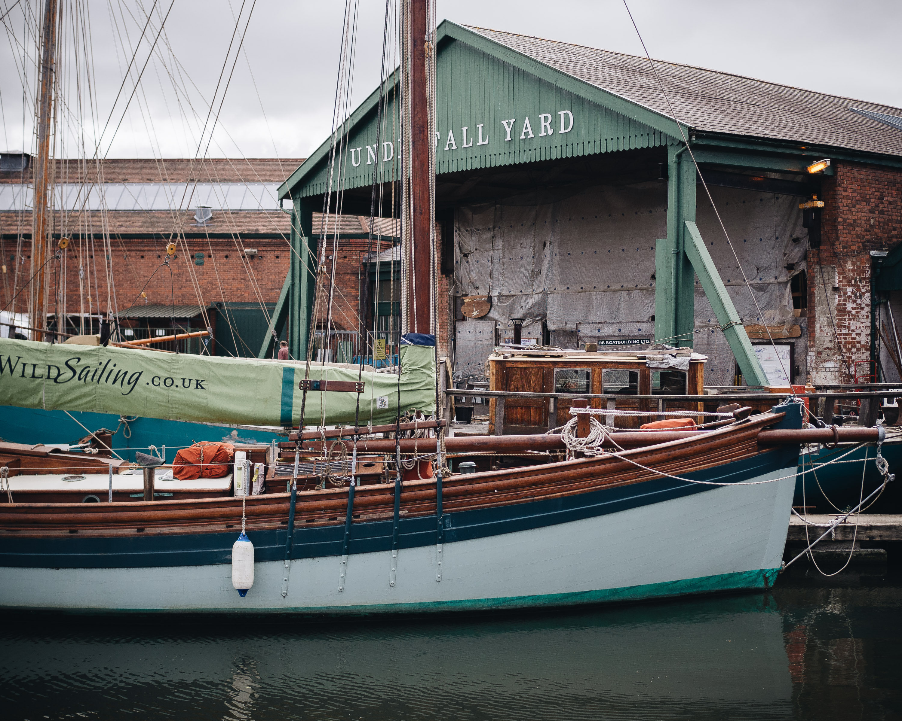 Seasalt autumn bristol harbour littlegreenshed 2017