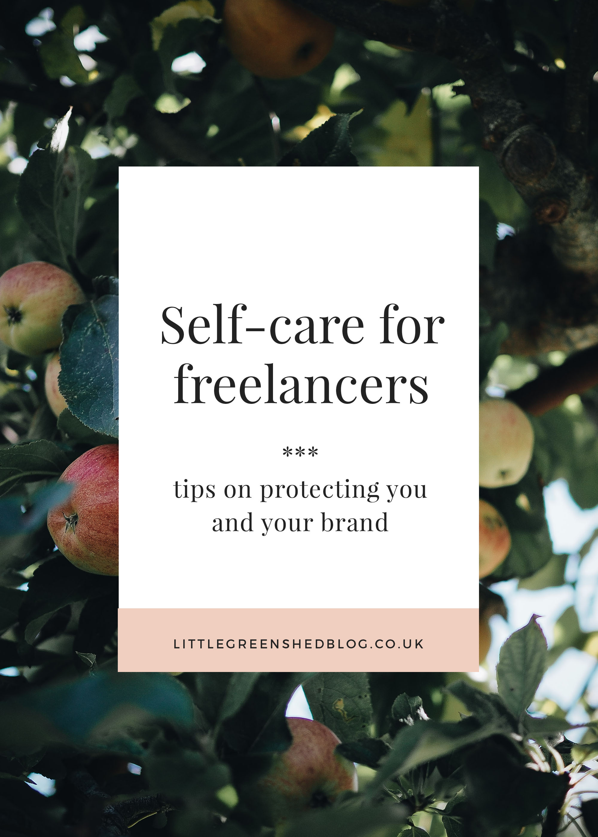 self care for freelancers littlegreenshed blog