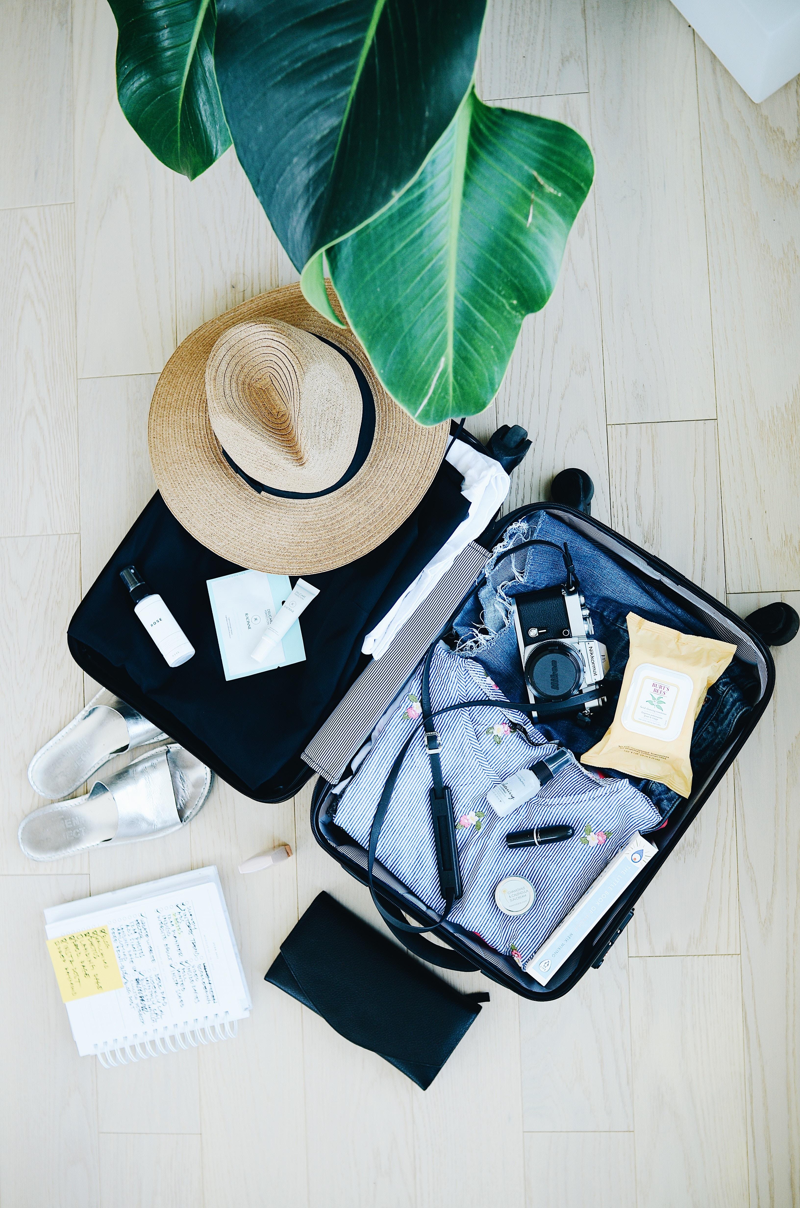 packing for a press trip littlegreenshed