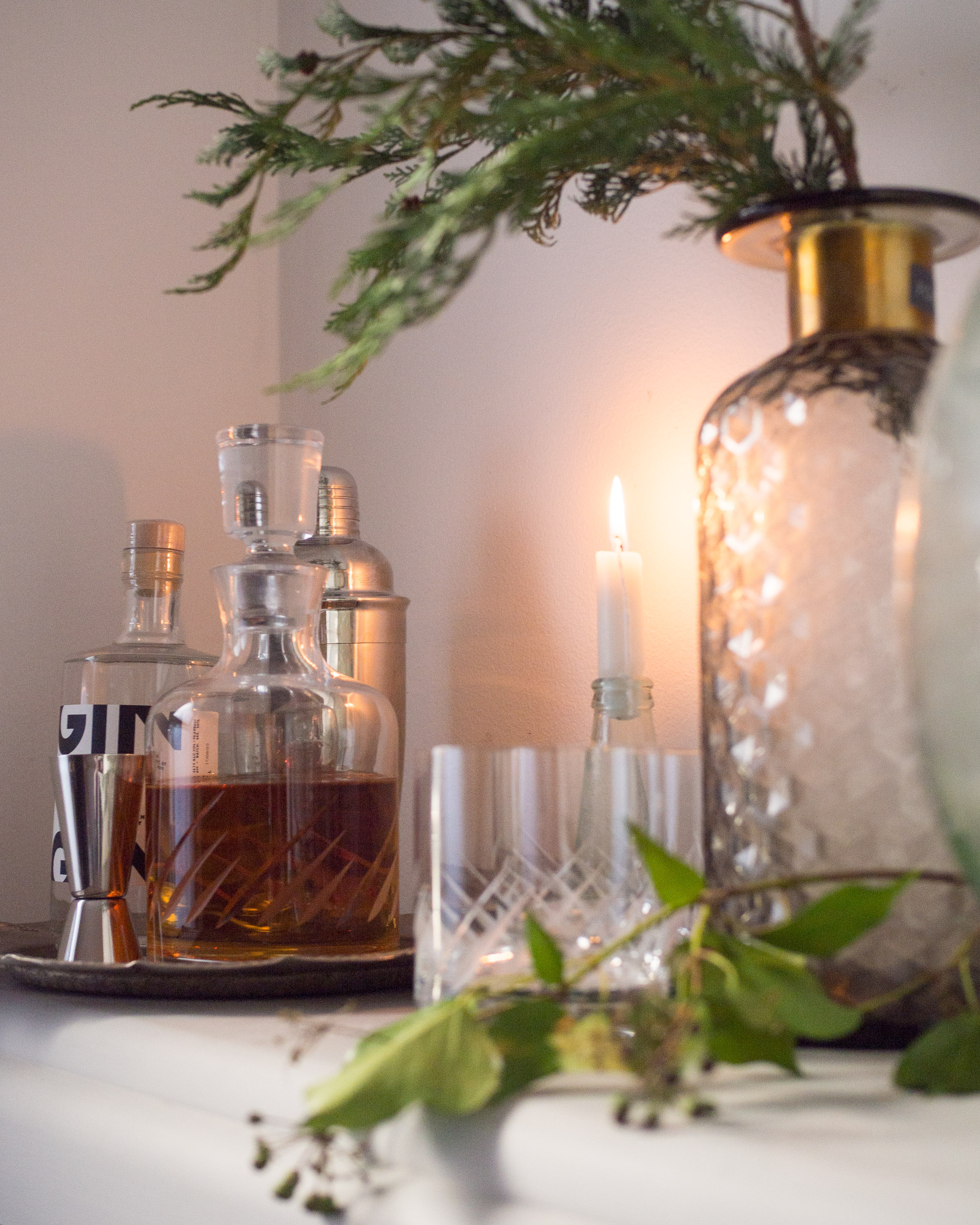 Simple Interiors   How to create a mini bar at home...