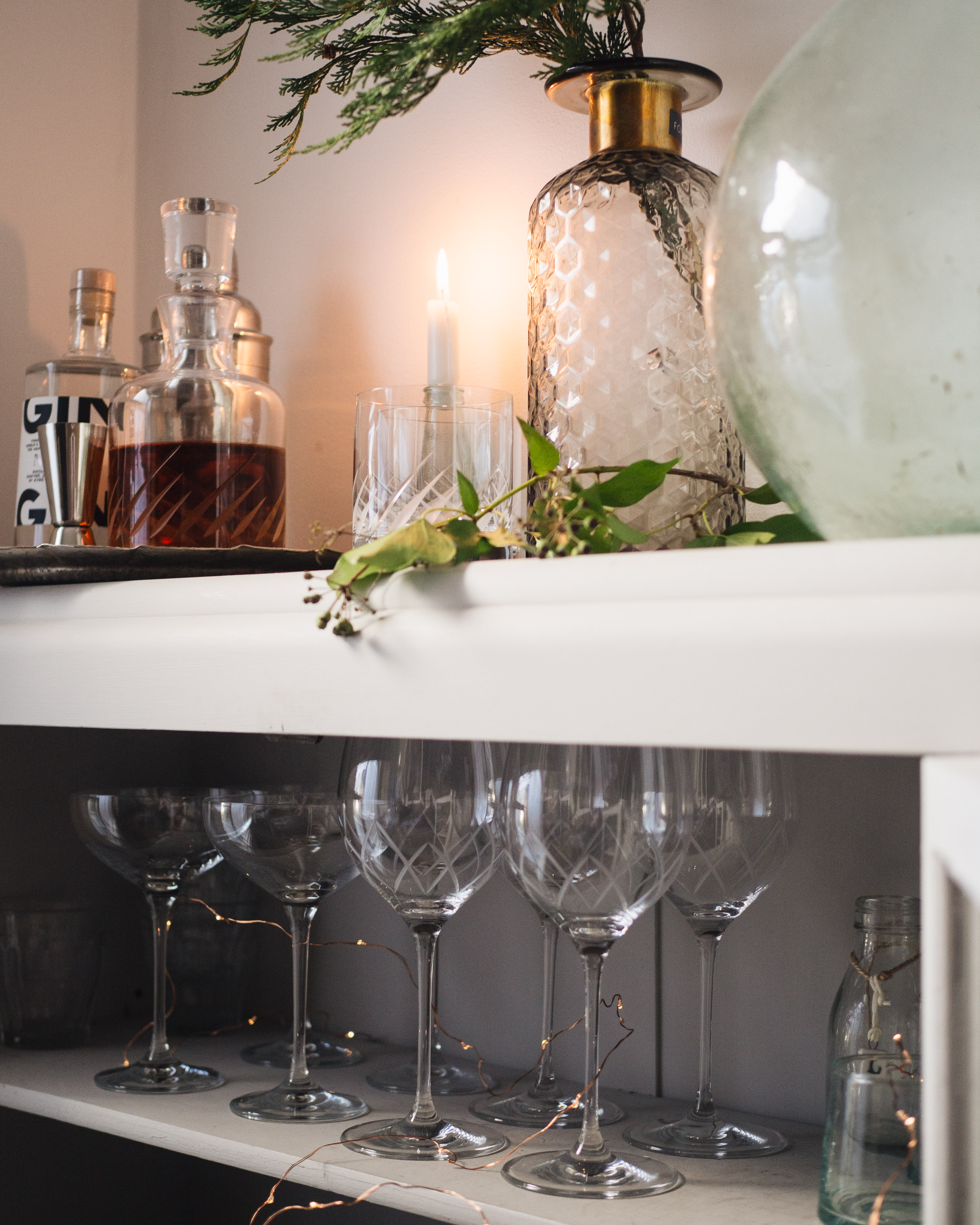 Simple Interiors How To Create A Mini Bar At Home