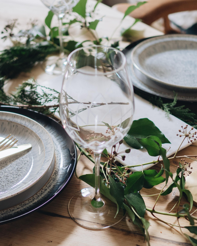 Christmas eve supper with Denby Littlegreenshed