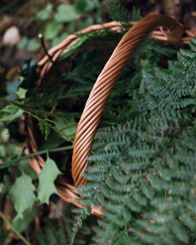 seasonal rituals foraging for greenery