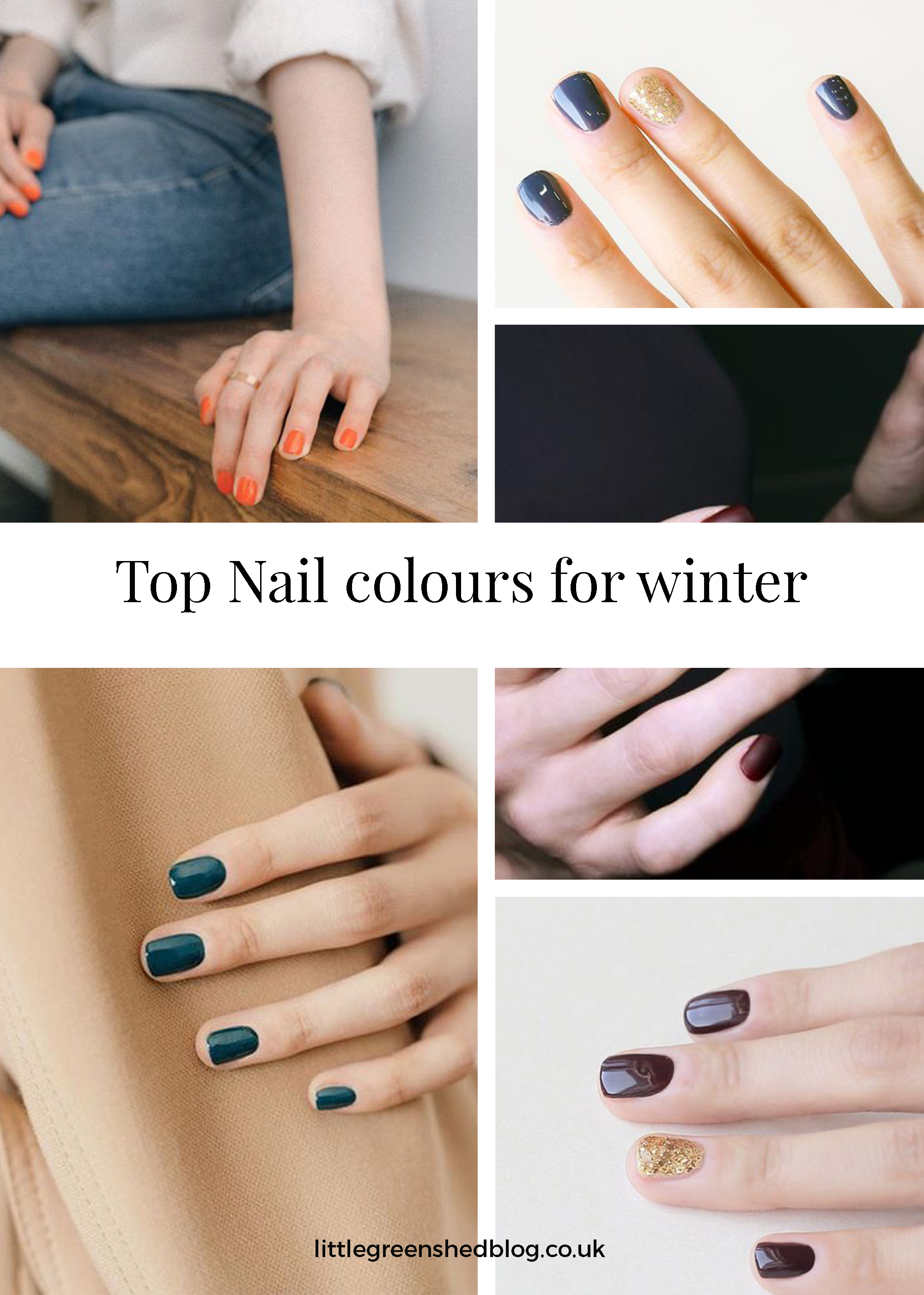 top winter nail colours