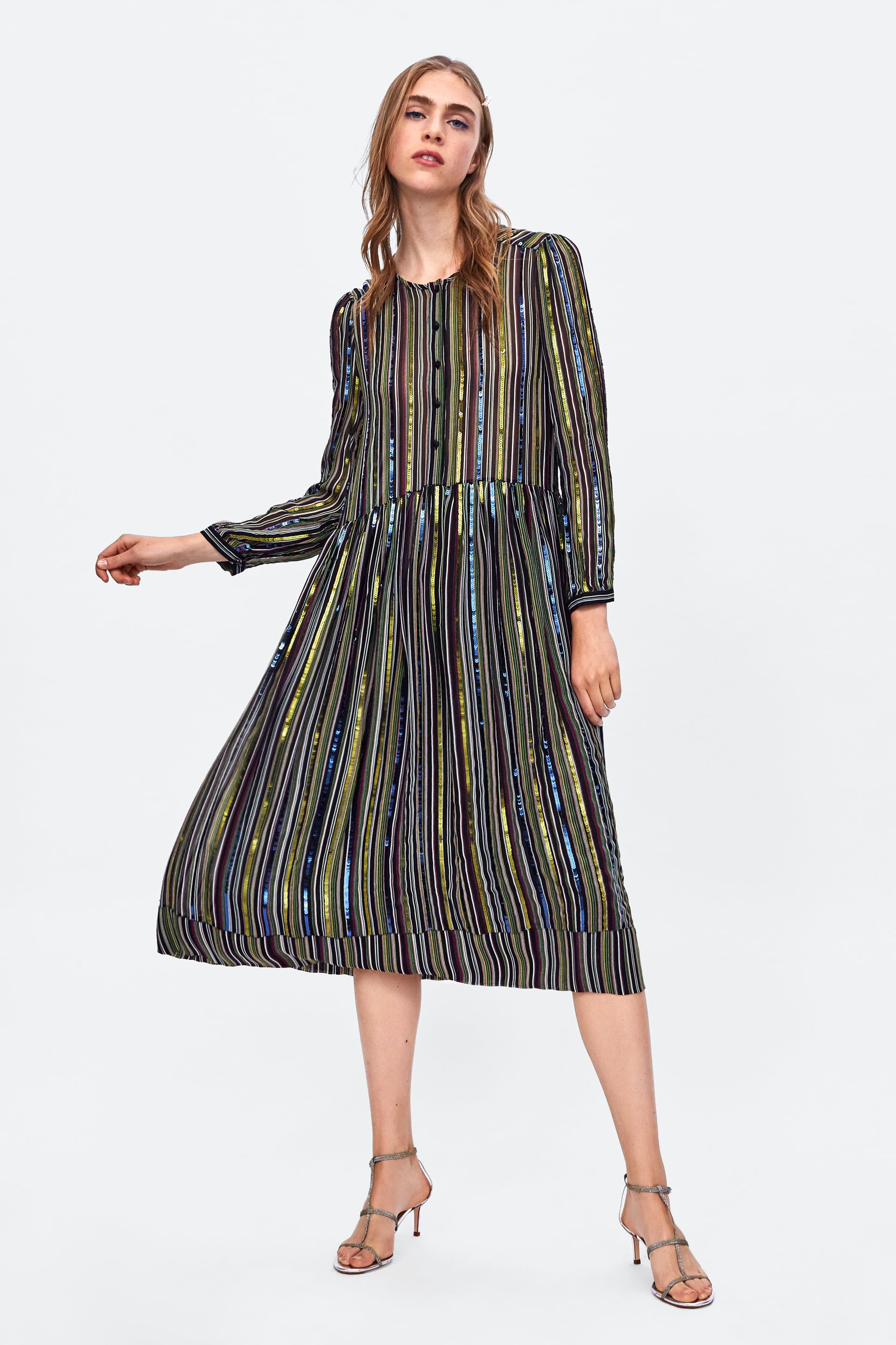 daece57438 Not a dress, I know! But imagine this teamed with an emerald green cashmere  jumper over the top, some tights and trainers or ankle boots.