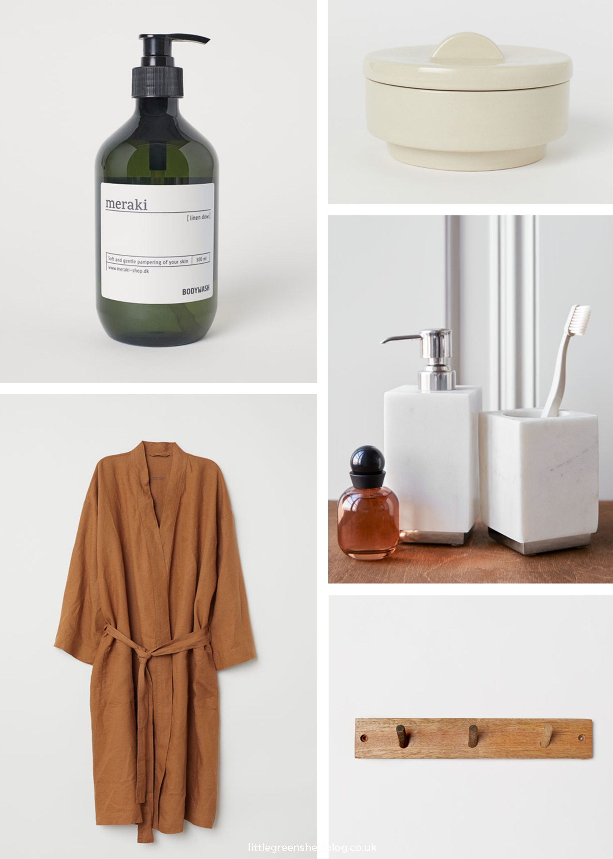 Interiors   10 essential items from HM Home for the new bathroom
