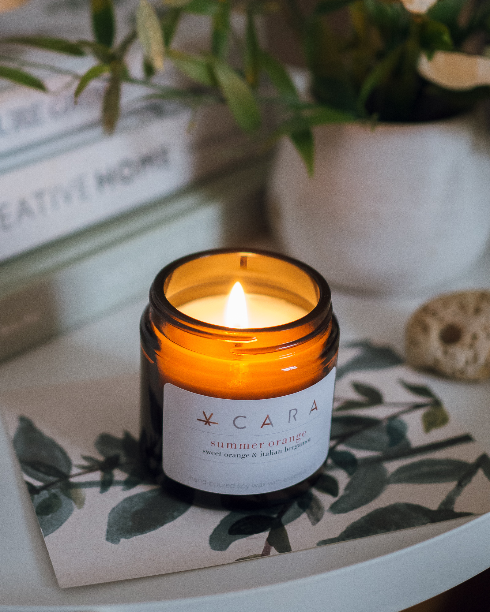 cara candles scent of summer
